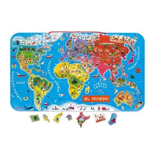 puzle-magnetico-atlas-mundial-en-espanol-92-piezas-madera